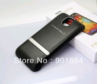 Free shipping One Piece 4200mAh Portable External Power Pack Backup Battery Charger Case For Samsung Galaxy Note 3 N9000