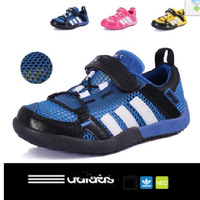 Free shipping, Shoes small male girls shoes cutout child sport shoes sandals