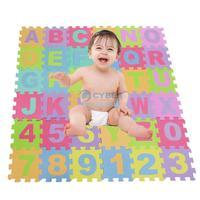 2Pcs/Lot Colorful Alphabet & Numbers Soft Foam Children Puzzle Carpet Kids Play Mat 18525