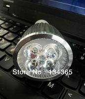 5 W LED 85-265V LED bulb light cool/warm white aluminum housing led spotlight 5pcs high power LED light 5pcs/lot