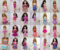 10 Items Mix Style Doll Princess Skirt Gown For Barbie Kurhn Doll Accessorise Christmas Girl Gift Free Shipping