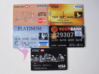 Real 2G/4G/8G/16G/32G Bank Credit Card Shape USB Flash Drive Pen Drive Memory Stick Free Shipping