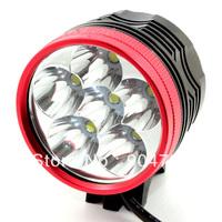 Bicycle LED Light Cree XML XM-L 6x T6 9000LM Flashlight / 6400mAh Battery
