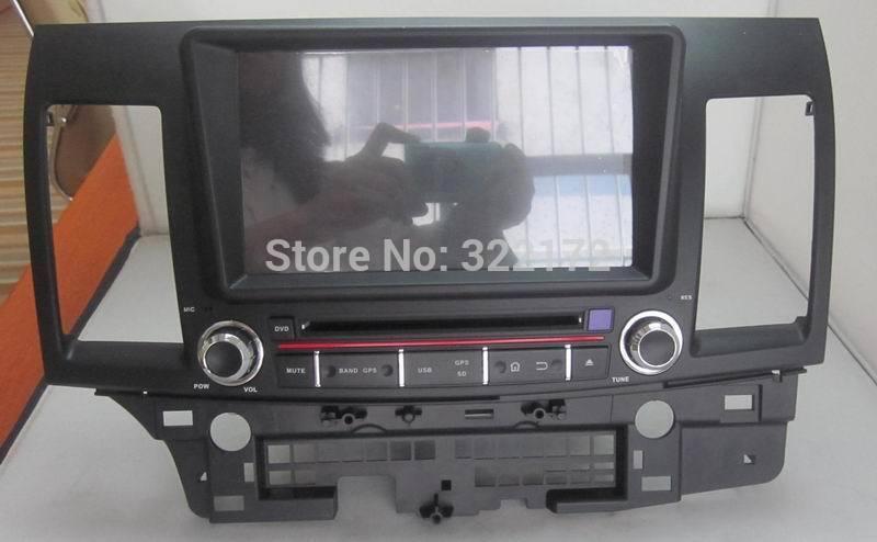 Car Radio Audio DVD Player GPS For MITSUBISHI LANCER 2006~2012 Free Shipping(China (Mainland))
