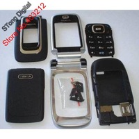 For Nokia 6131 Full Housing Cover + Keypad, brand new Black or Silver color + Free shipping STong Digital