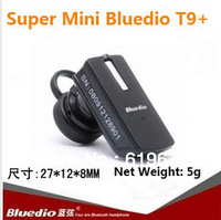 New Super Mini Bluedio T9+ Bluetooth Stereo Headset  Wireless Bluetooth 3.0 Earphone for Samsung Iphone HTC Free Shipping