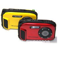 Free shipping 2.7'' LCD  16MP waterproof action digital camera
