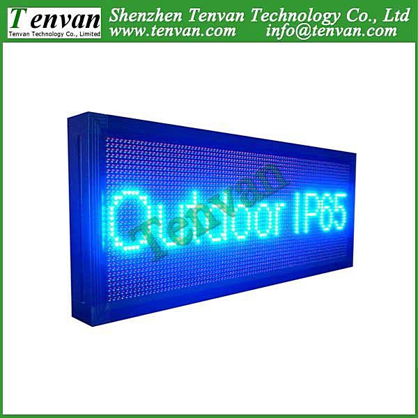 Free shipping led panel display moving with multi-language message and scrolling action(China (Mainland))