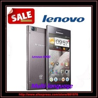 Free shipping Lenovo K900 Single SIM Card 3G Cell Phone intel Atom 2GB/16GB 1920*1080 Dual Core Android 4.2 13MP Russian Phones