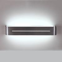 380mm 85-265V 10W Led mirror light fashion modern brief fashion wiredrawing aluminum ofhead bathroom mirror wall lamp