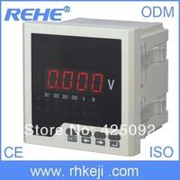 four and half digital display panel tester volmeter AC meter data logger voltage  phasing electricity analog meter