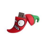 Retail genuine 8gb 16gb 32gb 64gb 512gb red Chili usb flash drive Memory Stick usb pen drive cartoon flash drive Zombie