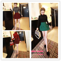Retail Fashion women's clothing sweater 2013 new autumn winter turtleneck solid  beading ladies sweater 8927