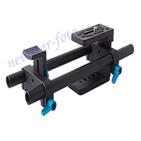 DSLR rail 15mm rod support system for Panasonic Lumix DMC DMC-G1 GH3 GH1 GH2 GF1 G2 G10 FZ50 FZ50K FZ50S FZ30 FZ30K FZ30S FZ20