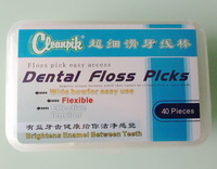 Ultra-thin PTFE floss (Circle Line) Interdental Brush  40 / box Floss Thin And Slippery