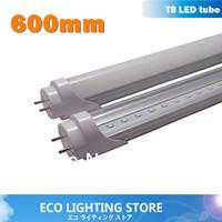 25pcs/lot wholesale LED tube 600mm 10W G13 0.6m 2ft led tube light high lumen 2835 100lm/w AC85~265V UL 3years warranty