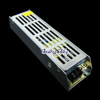 High quality 80W 12V 6.5A Slim Power Supply AC to DC Adapter Switch for LED Strip Light CCTV 110V 220V #2 hot sale free shipping