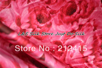 Free shipping 100% mulberry silk fabric charmuse silk for bedding dress scarf pillowcase #LS0776