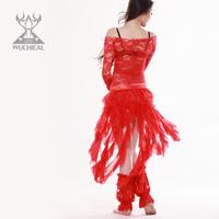 2014 New Fresh And Elegant Long Tassel Diamond hemp Color butyl Belt Belly Dance Waist Chain,8 Colors TP 111