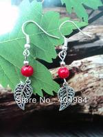 FREE SHIPPING Tibetan jewelry miao silver drop earring handmade