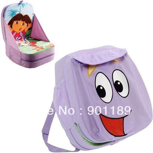 New whlolesale top quality dora toddler's school bag kid's knapsack child's seat picnic bag Free Shipping(China (Mainland))