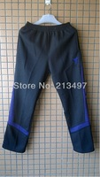 MEN CASUAL PANTS THICK WINTER Kobe Bryant STYLE BLACK/WHITE 4XL