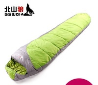 Outdoor thickening autumn and winter sleeping bag sleeping bag adult sleeping bag patchwork double sl020