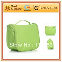 free shipping waterproof nylon women bag portable cosmetic makeup set bag pencil pase pouch toiletries fashion cosmetic bags