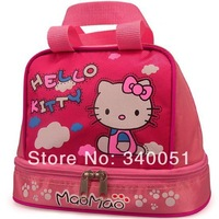 2014 New Hello Kitty Tote Lunch Box Bag Children Bento Box Bags For Kids For Woman