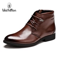 Blaihilton British summer fashion boots Martin boots male boots Korean version of the high-top shoes Boots