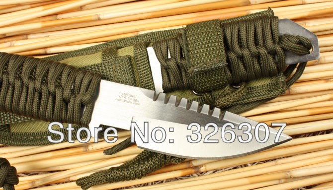 Small straight outdoor survival knife folding knife gift knife outdoor knives
