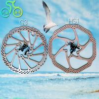 Avid disc g3 hs1 disc bicycle brake pads titanium screws sram bb5 bb7 disc 160mm with 6 screws mountain bike deore
