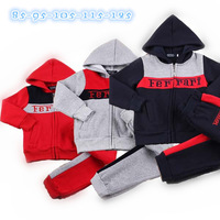 New Fashion Designer Boys Clothing sets,Kids thicken Winter suits for Boy and Girl,jacket+pant 2 pcs suit,Sports clothing