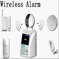 IP network wireless alarm video phone and monitor security systems