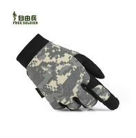 Men Women Outdoor Tactical Gloves  Hiking gloves Ride Camouflage Gloves  Size:S - XL Color:Black/ACU/CP/Brown/Army Green/Jungle