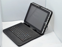 """Tablet keyboard leather case  9.7"""" inch usb universal keyboard leather protective case for Bben C97"""