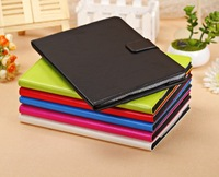 new arrival ultra thin luxury color fashion smart crazy horse PU leather wallet flip folding bag cover case for Apple ipad 5 air