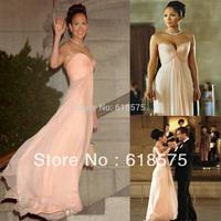 Jennifer Lopez Maid in Manhattan Best selling Sweetheart Chiffon Bridesmaid Celebrity Dress