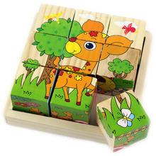 cheap 3d wooden puzzle