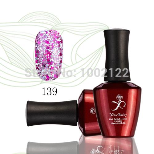 New 336 Candy Color 6pcs/lot Nail Art Polish Set Shellac UV Gel Color Nail Polish Varnish Soak Off Gel Polish(China (Mainland))