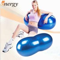 90cm Thick explosion-proof pilates yoga peanut balls children / baby feeling system training kids toys fitness ball exercise gym