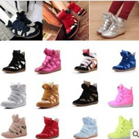 Women Velcro single shoe within the higher free shipping of mixed colors