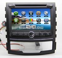 SsangYong Korando Actyon Car DVD Player with GPS,Bluetooth,Radio,IPOD,Analog TV,USB/SD,3G USB port, EMS Free shipping