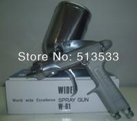 Freeshipping anest iwata  manual spray gun w-61 gravity feed 1.0,1.3,1.5mm nozzle spray gun