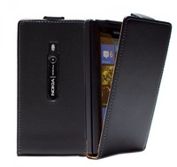 For Nokia Lumia 800 Flip Leather Case Pouch Cover Wallet