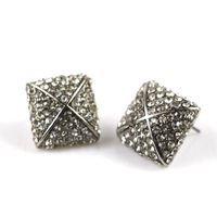 Free shipping min order$10 unusual great jewelry new arrival exquisite fashion accessories b39 full rhinestone stud earring