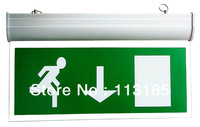 3W LED Emergency Exit Light CE&RoHS 3 Years Warranty 10pcs a lot Epistar Chip Emergency LED Light DHL Free Shipping