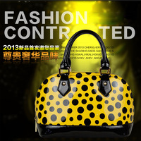 Wonen handbag Korea classical shell layer leather handbag leather tides bag genuine bag fashion ladys handbag  free shipping
