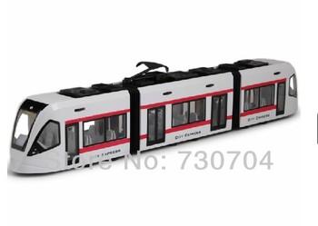 Railroad Train Toys Subway Locomotive Toys Easy Scale Model Train 1:43 Children Toys
