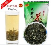 Do promotion! 2013 new item 250g /8.8oz Jasmine green tea Organic Chinese Premium scented Green flower Tea jasmine maofeng tea